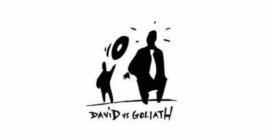 davidvsgoliath.gif (550×287) #lundin #vs #promoe #mattias #looptroop #dvsg #goliath #david