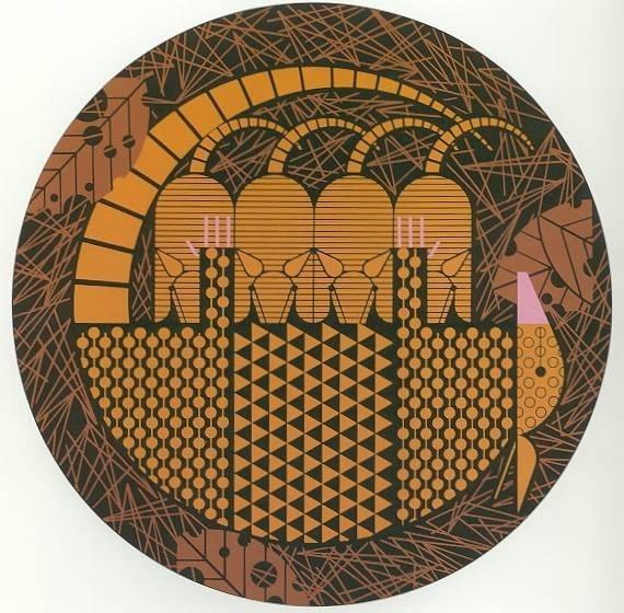 Charley Harper Serigraphs Armadittos signed #charley #print #illustration #drawn #harper #hand