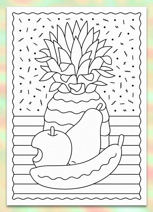 Benny Arts #stil #illustration #fruit #life