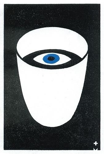 tommessenger.com #white #messenger #black #glass #eye #illustration #tom #and