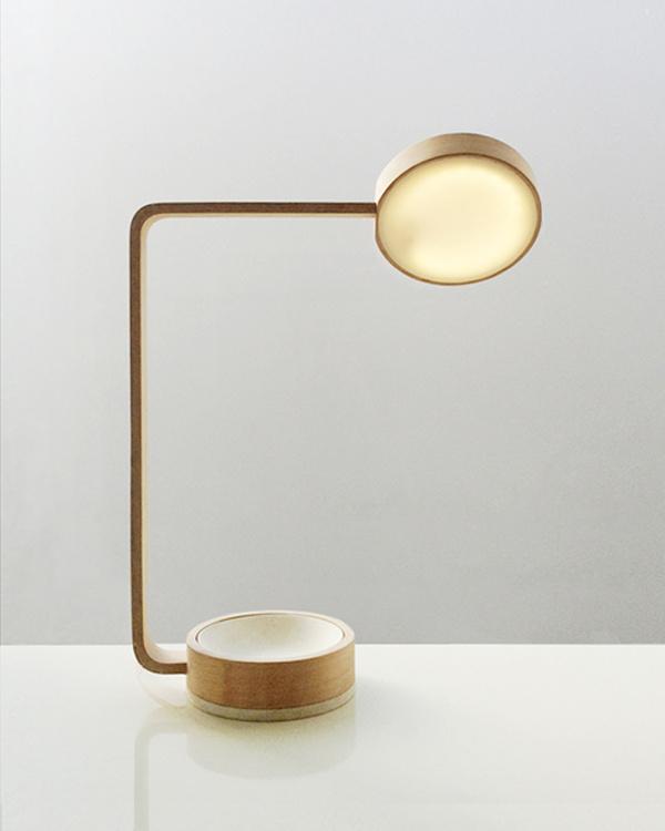 Apsis Lamp by Zak Stratfold #lamp #minimalist #light #minimalism