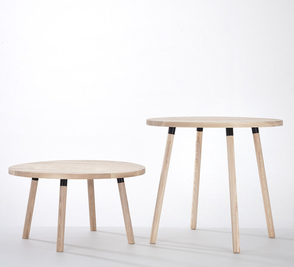 Patridge Tables is a minimalist design created by Australia based designer DesignByThem. Partridge Tables are the latest addition to the Par #modern #design #minimalism #minimal #leibal #minimalist