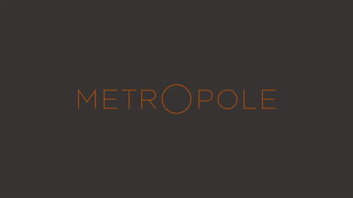 Metropole logo designed by Branch #logo #logotype #brandidentity #identity #metropole #Branch