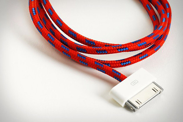 Eastern Collective Textile iCables #apple #textile #cable
