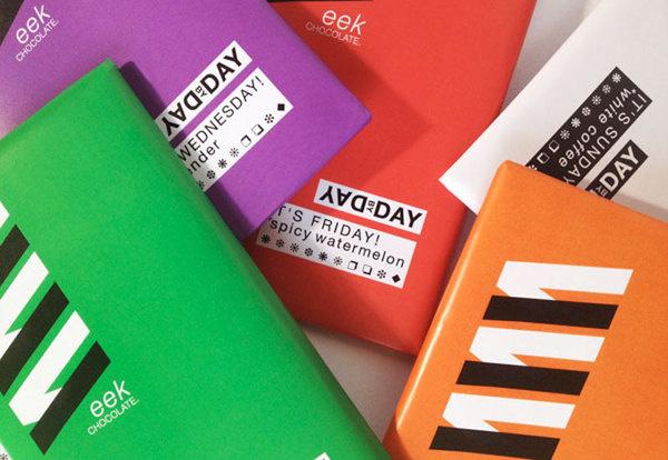 Week Chocolate #packaging