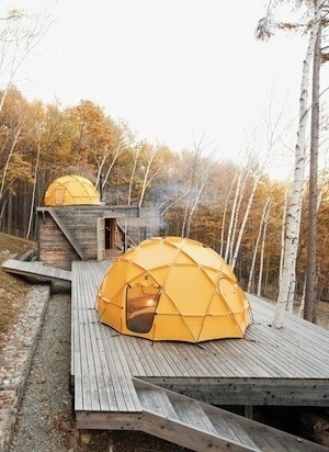(1) new product — New for you - Svpply #wood #yellow #tent