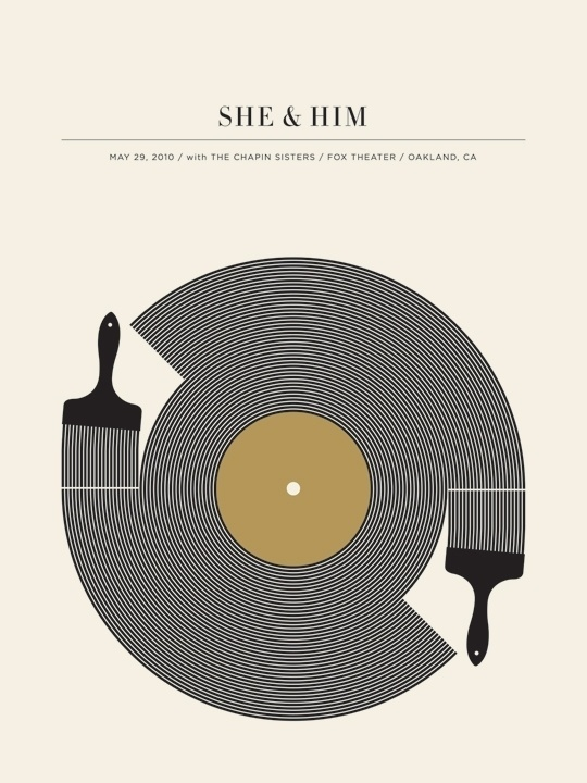 25 beautiful gig posters | The Hatched Blog #gig #design #illustration #poster #art #music