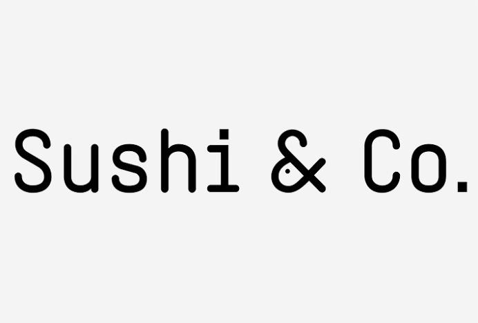 Sushi & Co. by Bond #logo #logotype