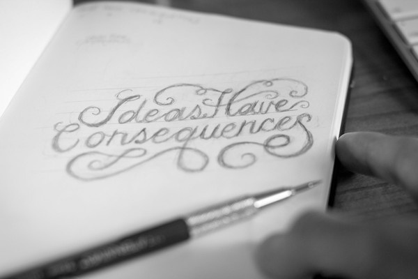 Hand Lettering by Christopher Vinca #lettering #script #drawn #hand #sketch #typography