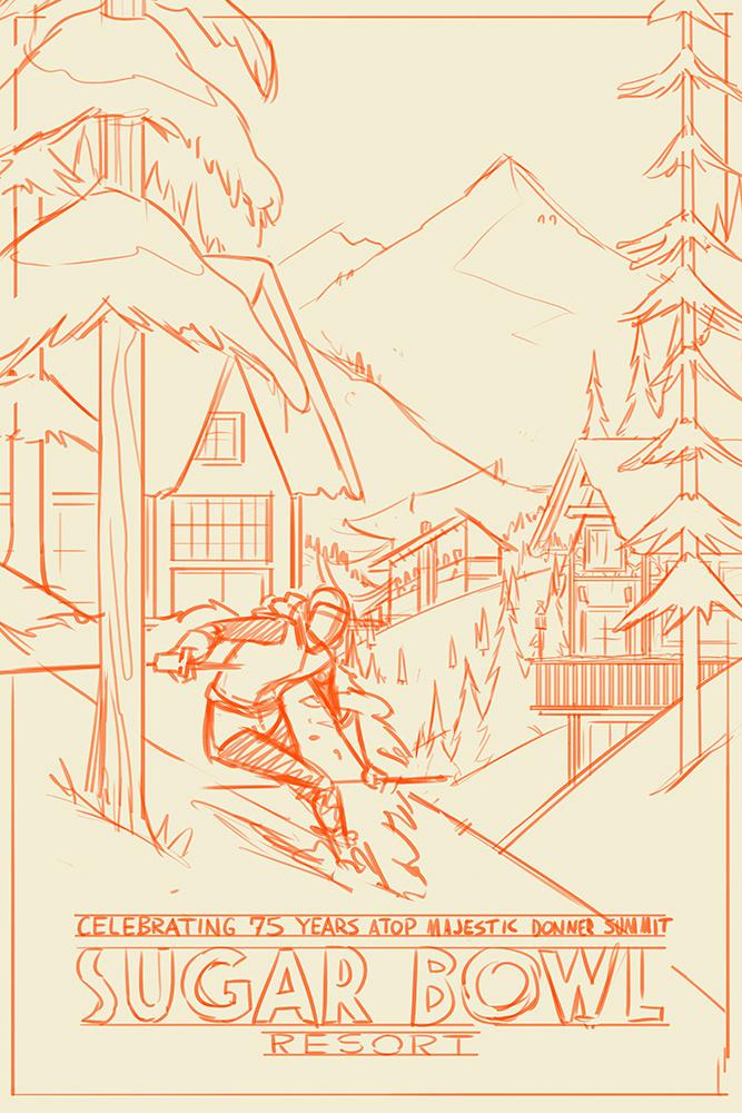 Sketch Option 1 #sketches #process