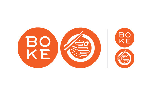 boke bowl logo #logo #design