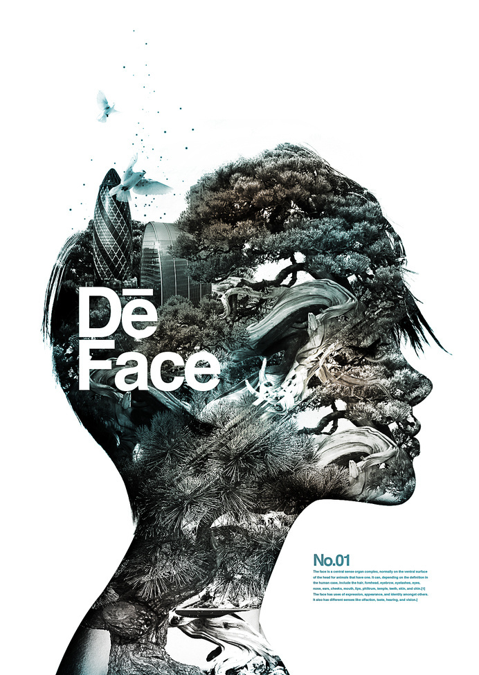 Poster | De Face #inspiration #design #graphic #poster