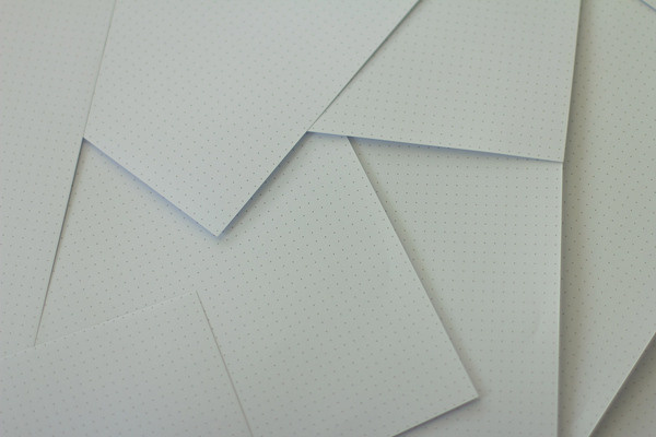 Dot Grid Paper Pack (100x A4 Sheets) • Dotgrid.co • Dot grid books for designers #paper #dotgrid
