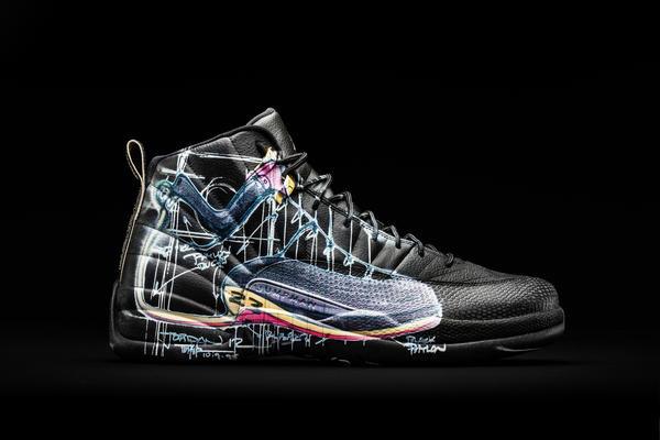 Nike Donates a Dozen Exclusively Designed Jordan XII to OHSU Doernbecher