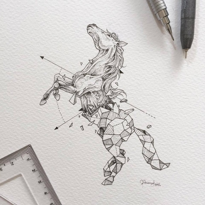 Illustrations that would make great tattoos