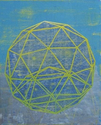 Dan+Bina%2C+Buckyball+I%2C+painting%2C+2011+copy.jpg (JPEG Image, 583x720 pixels) #abstract #ball #bina #dan #bucky #art #buckminster #fuller