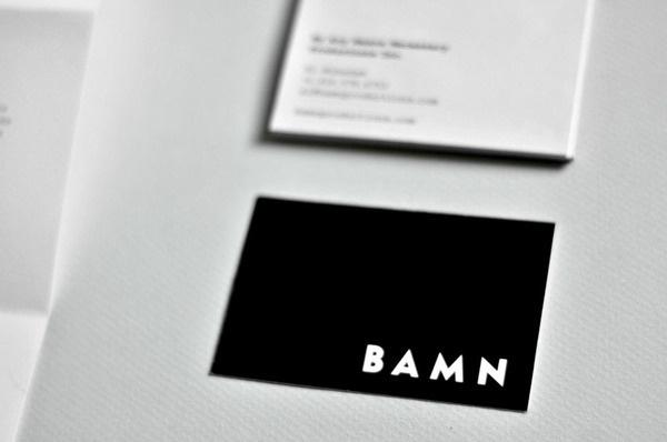 BAMN Identity #simple #identity #minimal #stationery #logo #bamn #typography