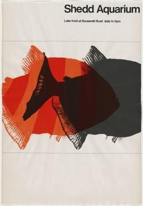 FFFFOUND! | MoMA | The Collection | Carol Lipper and John Massey. Shedd Aquarium. 1965-66 #design #graphic #illustration #posters #moma
