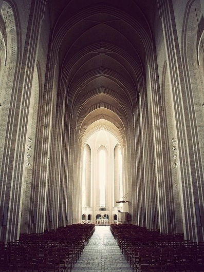 Grundtvigs Church on the Behance Network #holtermand #church #kim #photography #architecture