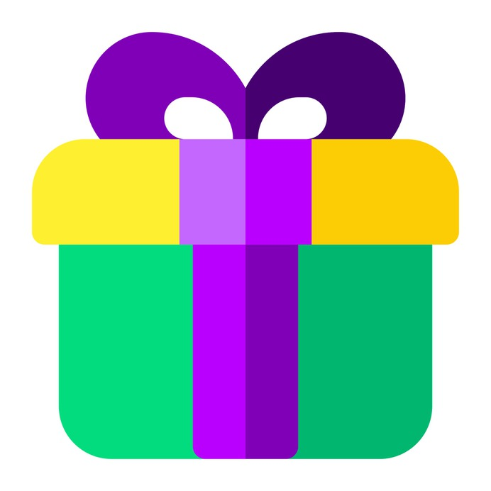 See more icon inspiration related to gift, present, birthday, birthday and party and surprise on Flaticon.