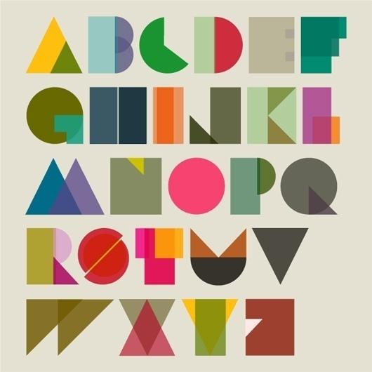 Tim Fishlock #tim #design #graphic #fish #lock #colors #alphabet #shapeset #typography