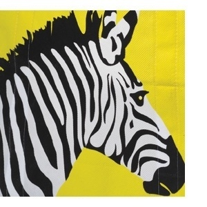 Sara Lindholm - alexandrinelambert: (via American Graphic Design... #print #yellow #zebra