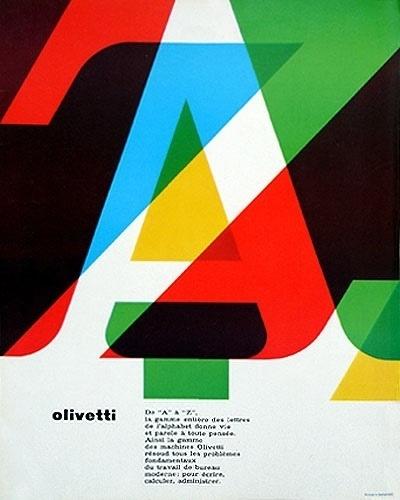 Merde! - Graphic design gorg: we love typography. a... #olivetti #design #graphic