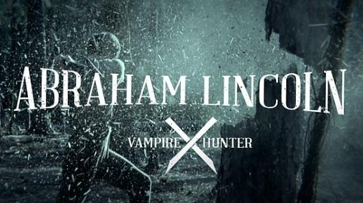 Typeset Design » Abraham Lincoln Vampire Hunter Rebrand #vampire #lincoln #hunter #rebrand #abraham #logo