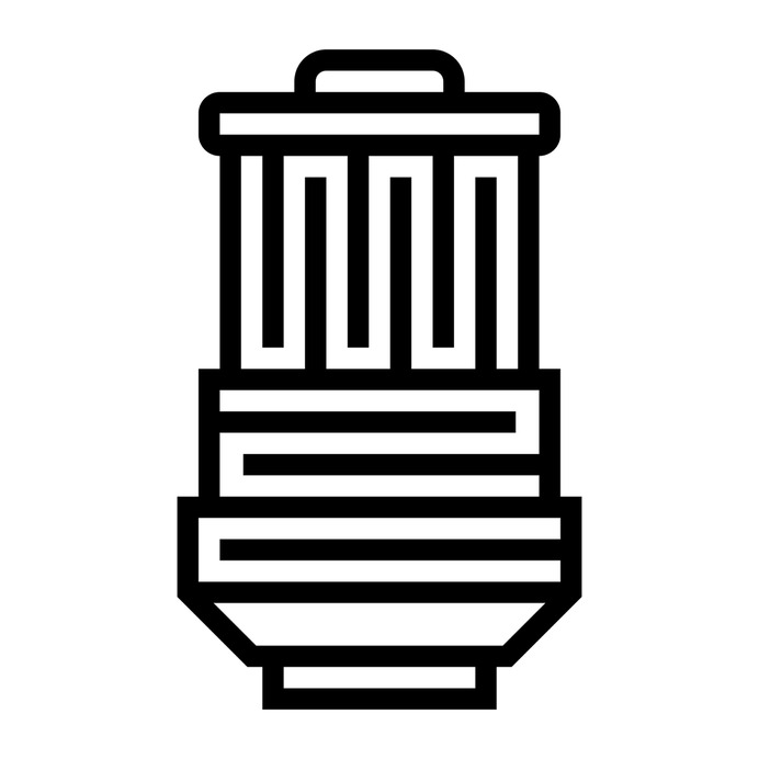 See more icon inspiration related to filter, petrol, gas, oil filter, construction and tools, Tools and utensils, transportation, petroleum, funnel, oil and gasoline on Flaticon.