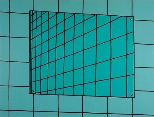 m_1993_866_caulfield_01_0.jpg 569×435 pixels #lines #grid #illustration #square #mirror