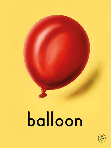 balloon Art Print by Ladybird Books Easyart.com #print #design #retro #artprints #vintage #art #bookcover