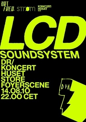 LCD Soundsystem - artFREQ. - Presents Radical High Culture #music #poster #typography