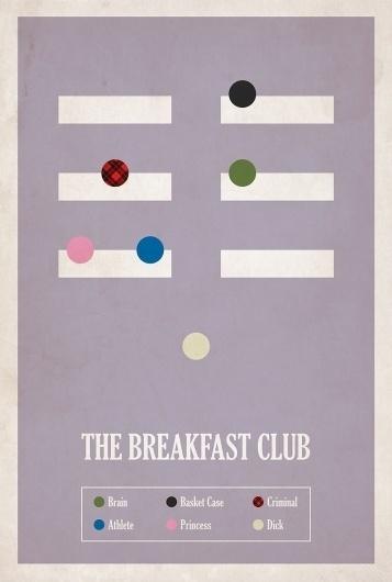 BrickHut #infographics #min #posters #minimal #movies