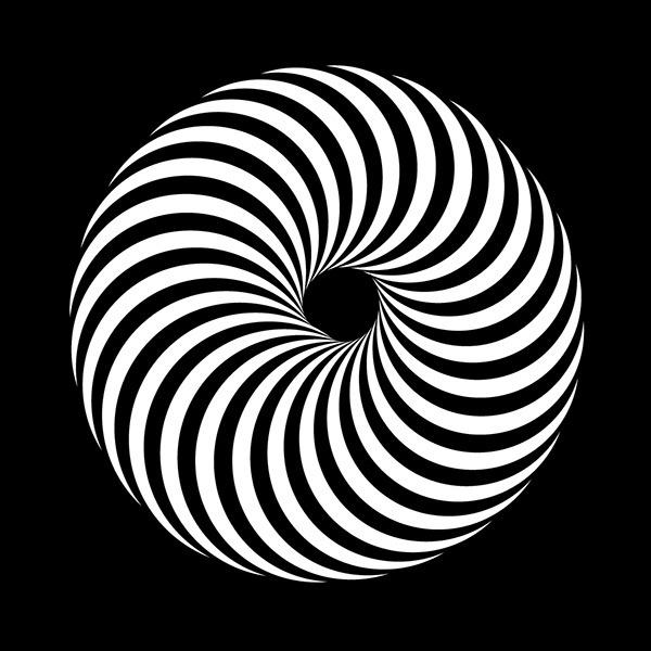 Vasarely lettering on Behance #op #lettering #optical #geometry #delgado #stripes #design #graphic #simple #art #sergi