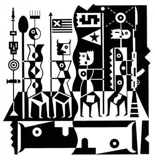 David McLimans Illustration #white #black #illustration #and #mclimans #david