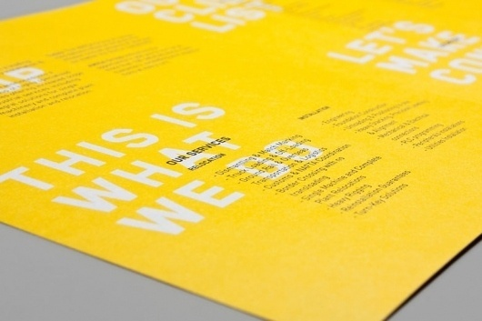 Graphic-ExchanGE - a selection of graphic projects #yellow #identity #book #black