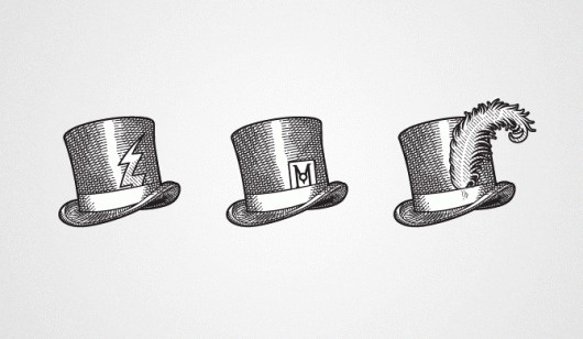 Velcro Suit - The Graphic Design and Illustration of Adam Hill #carved #illustration #system #hat #identity #logo