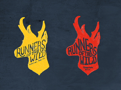 Runners Of The Wild #lettering