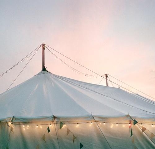 I S A #lights #flags #circus #garland