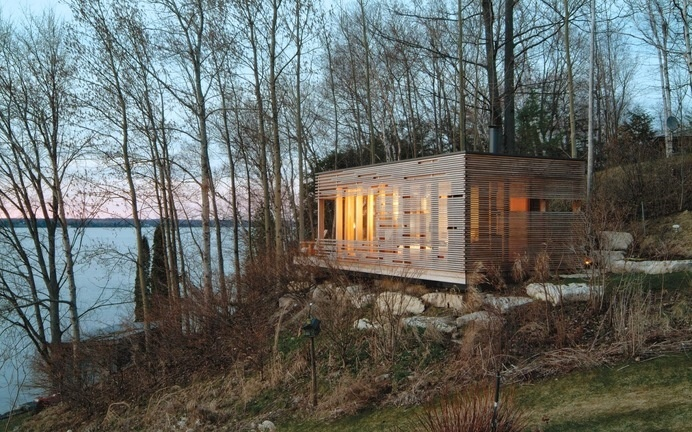 Sunset Cabin by Taylor Smyth Architects #interior #cabin #design #architecture