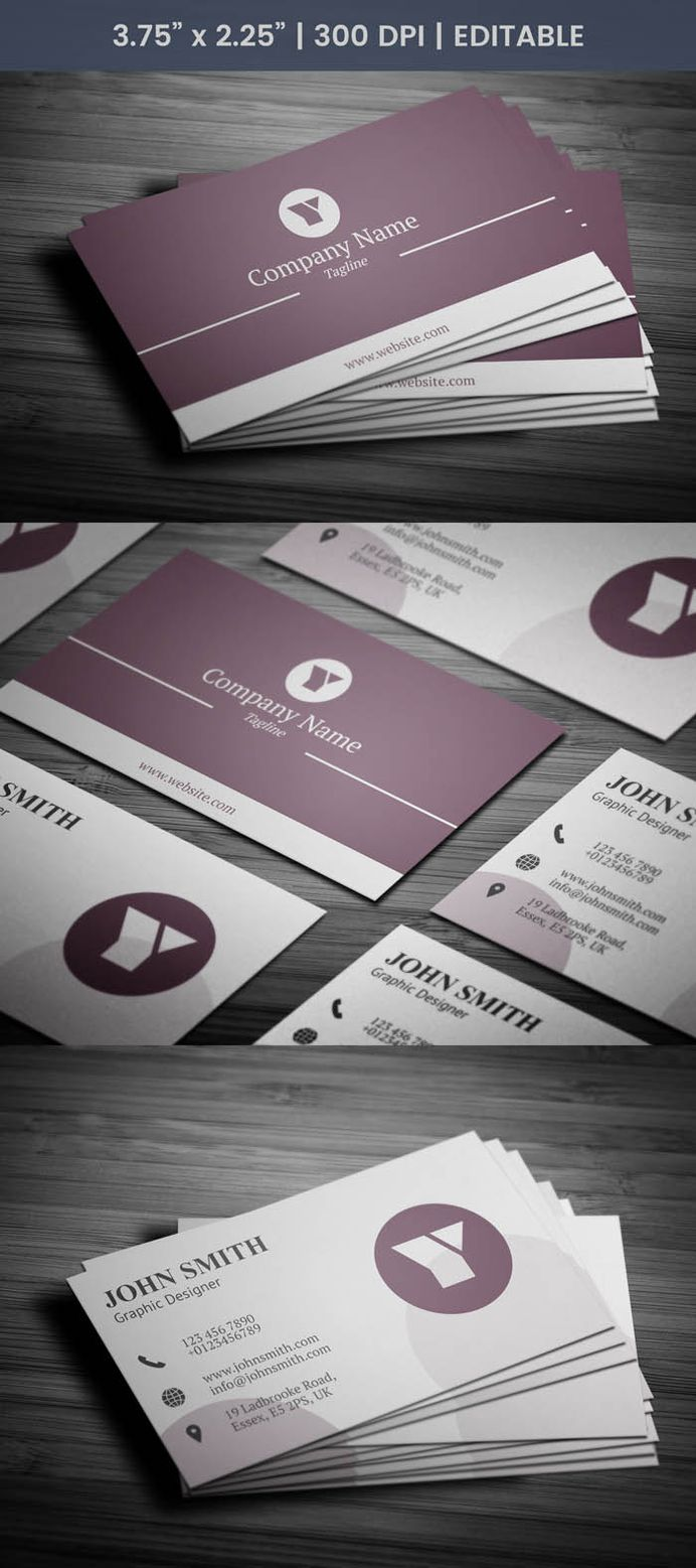 Free Elegant Graphic Designer Business Card Template