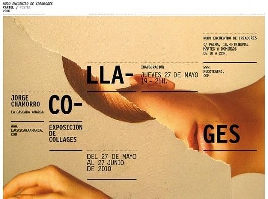 Entrevista a Jorge Chamorro, la cáscara amarga | dadanoias #colage #design #lacascaraamarga #kraft #editorial #typography