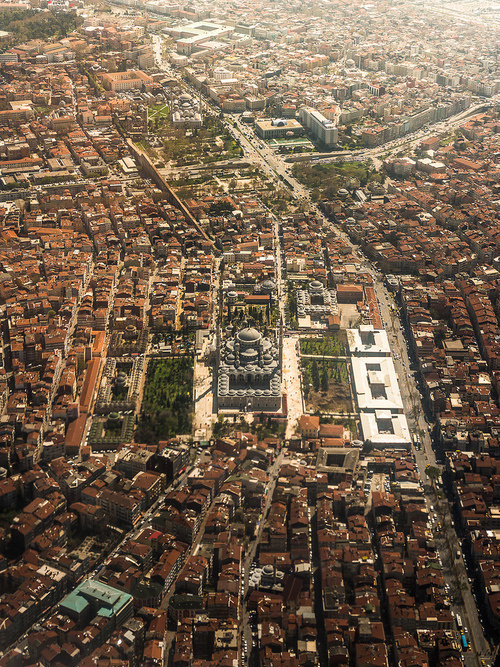 CJWHO ™ (Aerial Istanbul by Coolbiere. A. Istanbul...) #aerial #turkey #landscape #istanbul #photography #architecture