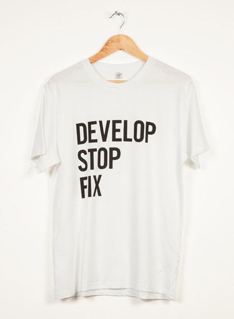 460_tee2 — Smiling Wolf #apparel #print #tshirt #shirt #screen