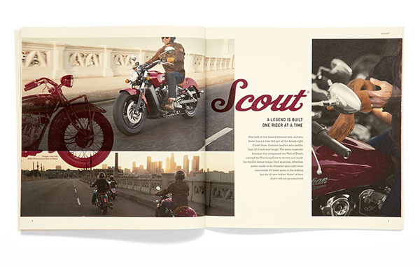 Soul Seven: Indian Motorcycle – Model Year 2015 | Allan Peters' Blog #layout #design #editorial #catalog