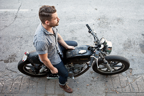 Convoy #fashion #motorcycle #menswear