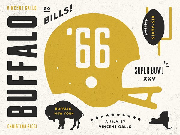 Buffalo_66_detail #illustration #buffalo #football