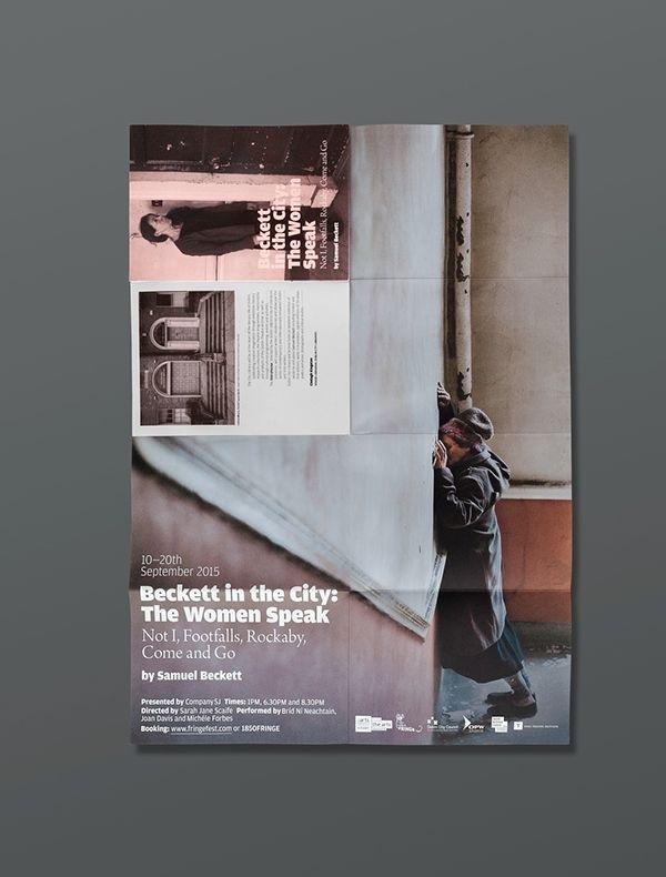 #poster #design #folded #theatre #urbend