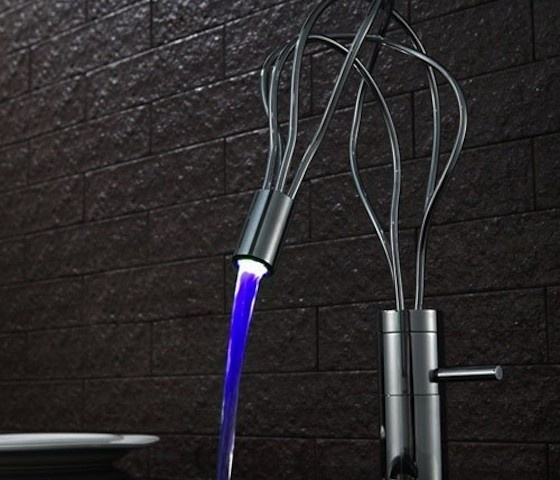 LED Bathroom Sink Faucet #bathroom #home