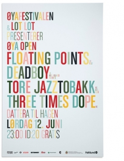 Music - The Metric System #gig #system #metric #poster #typography